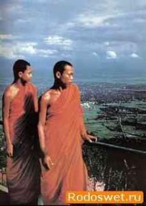 О привязанности к вещам - притча о двух буддийских монахов